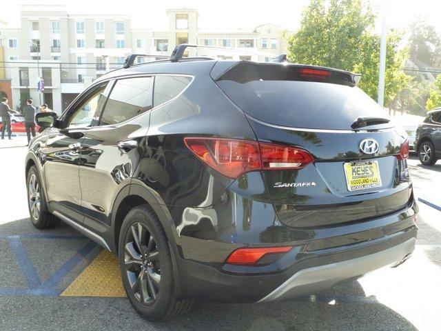 2017 Hyundai Santa Fe Sport 20T Ultimate Twilight BlackBeige V4 20 L Automatic 10 miles Keye