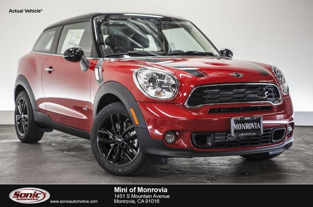 2016 MINI Cooper Paceman S  V4 16 L Automatic 0 miles  Turbocharged  All Wheel Drive  Power