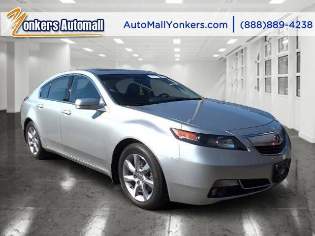2013 Acura TL Tech Silver MoonEbony V6 35L Automatic 41652 miles Navigation Yonkers Auto Ma