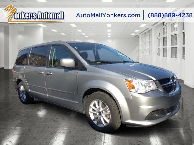 2014 Dodge Grand Caravan SXT Billet Silver Metallic ClearcoatBlackSandstorm V6 36 L Automatic
