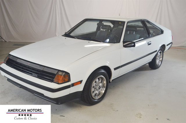 1984 Toyota Celica White V   0 miles We have a one owner 1984 Toyota Celica This car has live