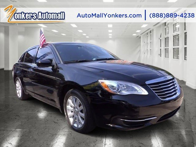 2013 Chrysler 200 Touring BlackBlack V4 24L Automatic 27507 miles  Alloy Wheels  Bluetooth
