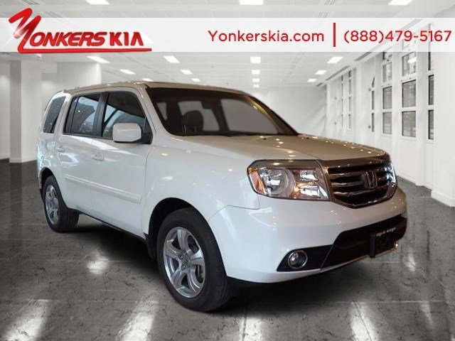2013 Honda Pilot EX-L Taffeta WhiteGray V6 35L Automatic 17172 miles 4WD Leather sunroof