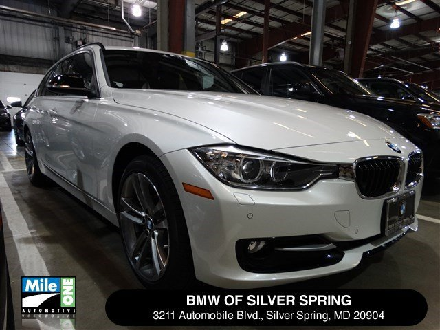 2015 BMW 3 Series 328d xDrive Mineral White MetallicBlack wRed Highlight V4 20 L Automatic 1