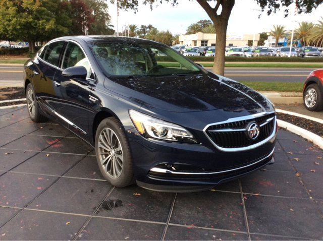 2017 Buick LaCrosse Essence Dark Sapphire Blue MetallicLight Neutral V6 36L Automatic 0 miles