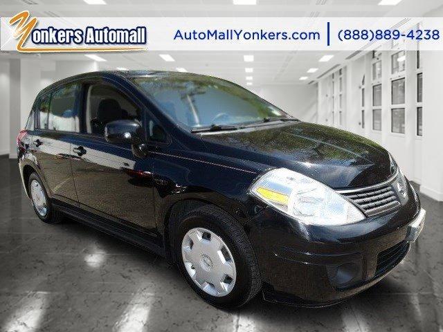 2009 Nissan Versa 18 S Super Black MetallicCharcoal V4 18L Automatic 56739 miles Yonkers Aut