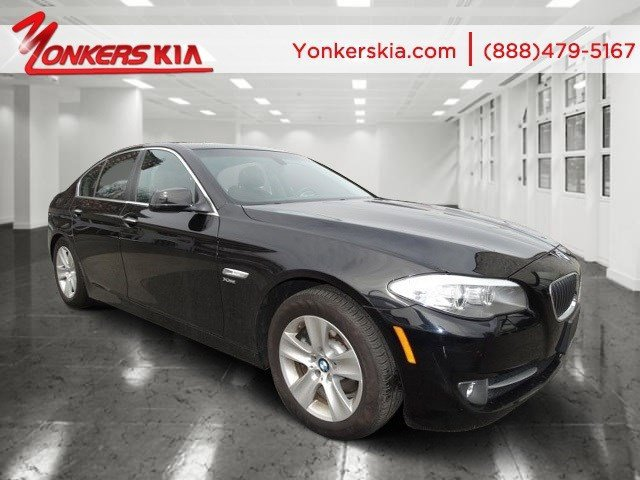 2012 BMW 5 Series 528i xDrive Jet BlackCinnamon Brown V4 20L Automatic 46732 miles 1 owner c