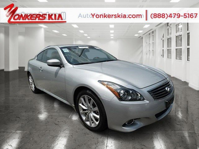 2013 Infiniti G37 Coupe x Liquid PlatinumGraphite V6 37L Automatic 42603 miles Navigation AW