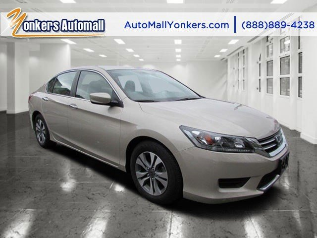 2013 Honda Accord Sdn LX  V4 24L Variable 41398 miles Yonkers Auto Mall is the premier destin