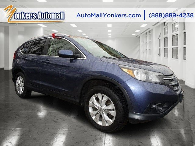2012 Honda CR-V EX-L Twilight Blue MetallicGray V4 24L Automatic 25477 miles 1 owner clean c