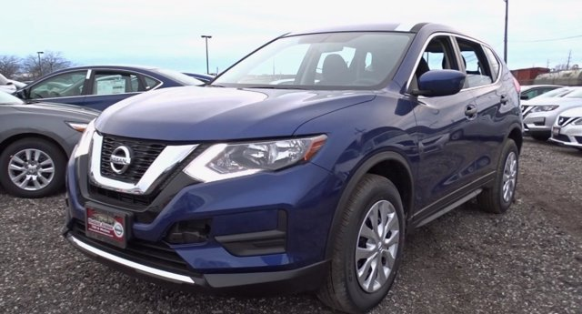 2017 Nissan Rogue S Caspian BlueCharcoal V4 25 L Variable 10 miles Boasts 32 Highway MPG and