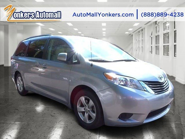 2013 Toyota Sienna LE AAS Silver Sky MetallicLight Gray V6 35L Automatic 50279 miles Yonkers