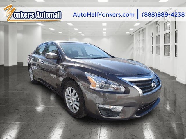 2014 Nissan Altima 25 S Java MetallicCharcoal V4 25 L Automatic 30090 miles Yonkers Auto Mall