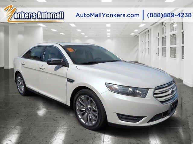 2013 Ford Taurus Limited White Platinum Metallic Tri-CoatDune V6 35L Automatic 38693 miles Yo