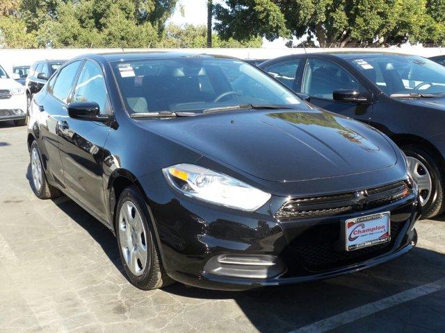 2016 Dodge Dart SE Pitch Black ClearcoatBlack V4 20 L Automatic 845 miles LOW LOW MILES