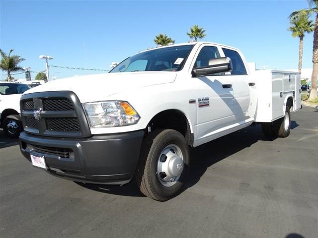 2014 Ram 3500  V8 64 L  0 miles  Four Wheel Drive  Power Steering  ABS  4-Wheel Disc Brake