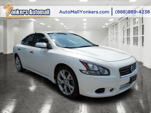 2012 Nissan Maxima 35 SV wSport Pkg Winter Frost PearlCharcoal V6 35L Automatic 36590 miles
