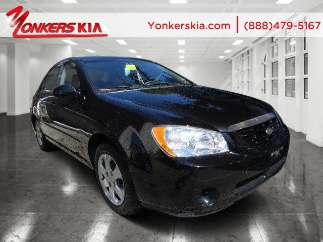 2006 Kia Spectra EX BlackGray V4 20L Automatic 60237 miles Yonkers Kia is the largest volume