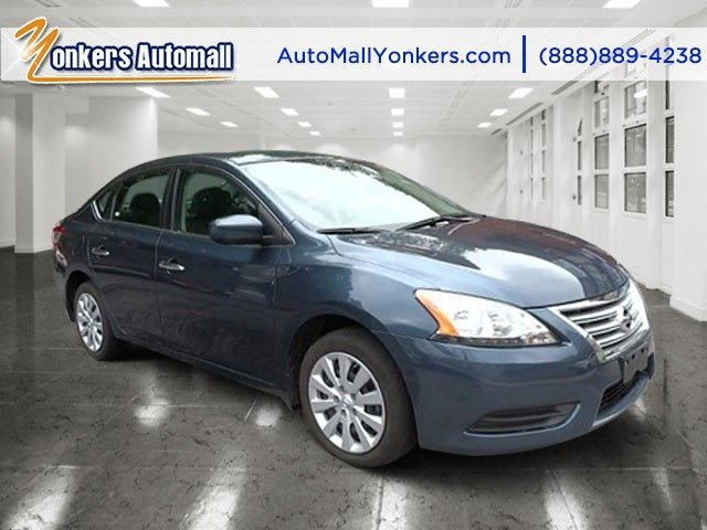 2014 Nissan Sentra FE S Graphite BlueMarble Gray V4 18 L Variable 39204 miles Elegantly expr