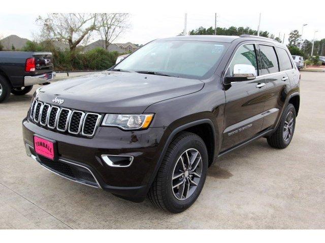 2017 Jeep Grand Cherokee Limited Luxury Brown PearlcoatLt Frost BeigeBlack