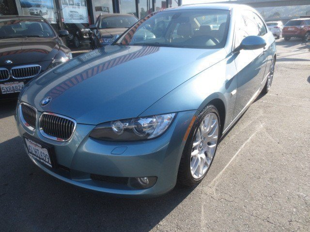 2008 BMW 3 Series 328i Coupe Atlantic Blue MetallicCream Beige V6 30L Automatic 76459 miles NE