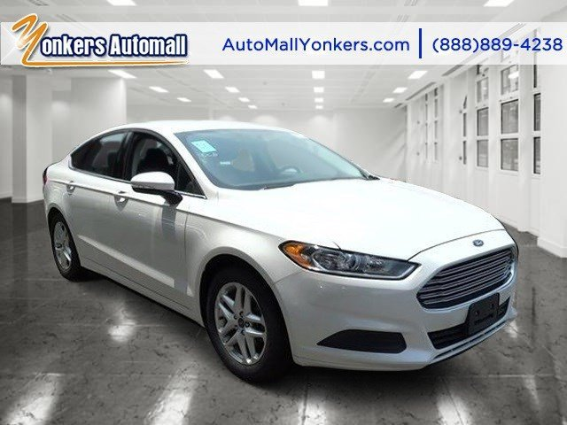 2014 Ford Fusion SE Oxford WhiteEbony V4 25 L Automatic 42358 miles Yonkers Auto Mall is the