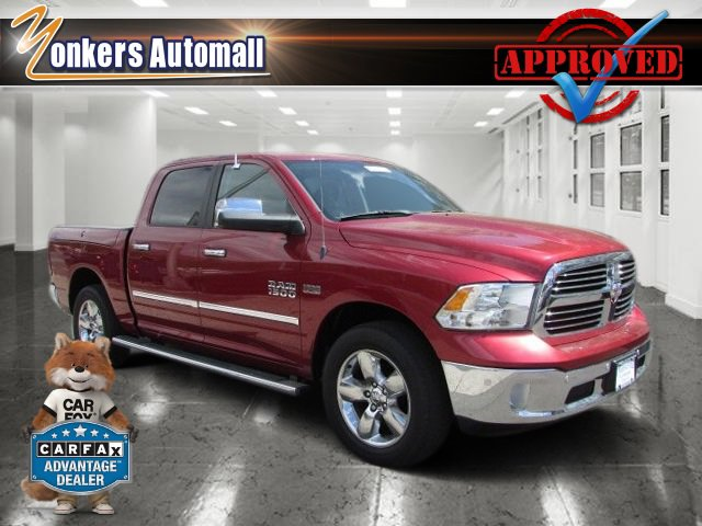 2014 Ram 1500 Big Horn Deep Cherry Red Crystal PearlcoatDiesel GrayBlack V8 57 L Automatic 46