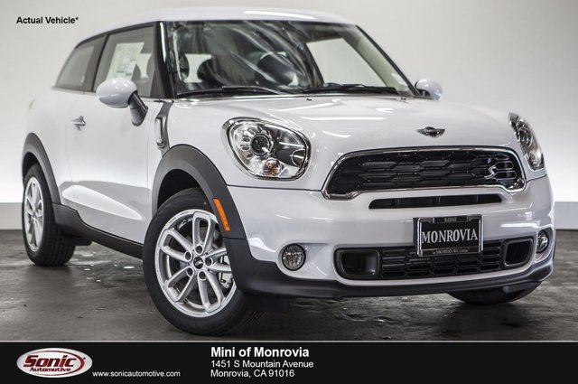 2016 MINI Cooper Paceman S Light WhiteCarbon Black V4 16 L Automatic 0 miles  Turbocharged