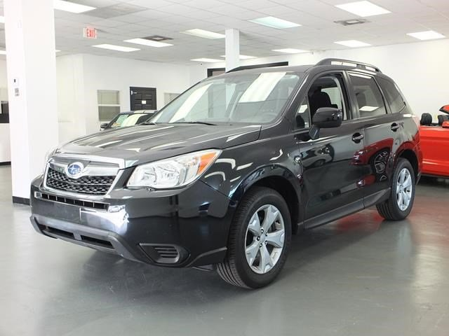 2015 Subaru Forester 25i Premium BlackBlack V4 25 L Variable 41908 miles IIHS Top Safety Pic