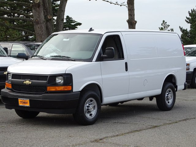 2017 Chevrolet Express Cargo Van Summit WhiteMedium Pewter V8 60L Automatic 0 miles  CONVENIE