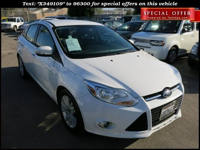 2012 Ford Focus SEL White V4 20L Automatic 71068 miles Choose from our wide range of over 500
