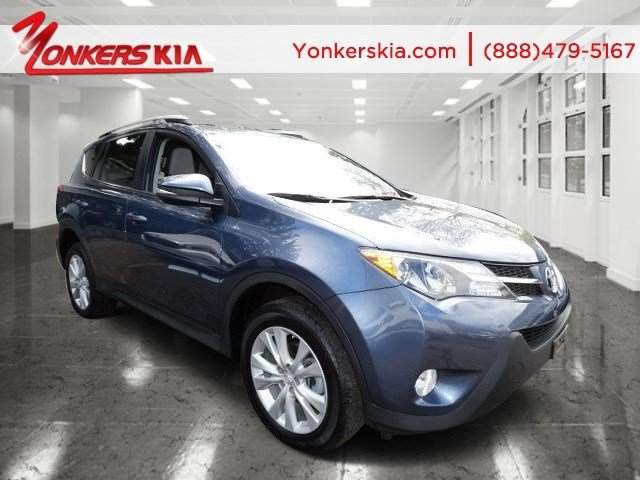 2014 Toyota RAV4 Limited Blue Crush MetallicAsh V4 25 L Automatic 17637 miles Navigation Yo