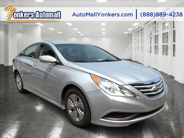 2014 Hyundai Sonata GLS Radiant Silver MetallicGray V4 24 L Automatic 37520 miles 1 owner cl
