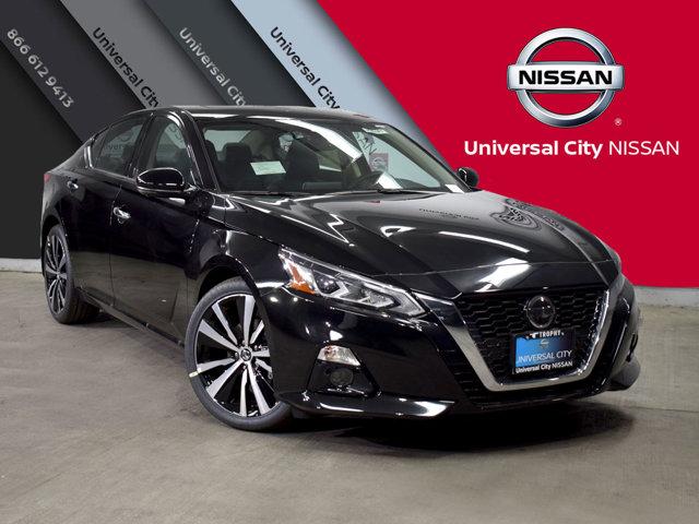 2019 Nissan Altima 25 Platinum Super BlackCharcoal V4 25 L Variable 4 mile