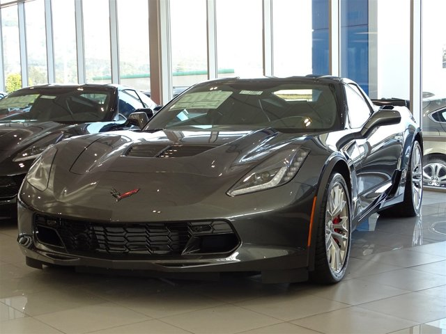 2017 Chevrolet Corvette Z06 3LZ Watkins Glen Gray MetallicJet Black V8 62L Automatic 0 miles