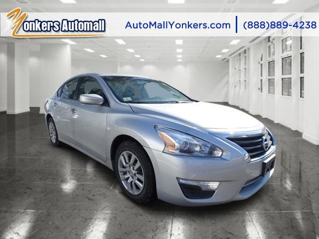2013 Nissan Altima 25 Brilliant Silver MetallicCharcoal V4 25L Automatic 34831 miles Yonkers
