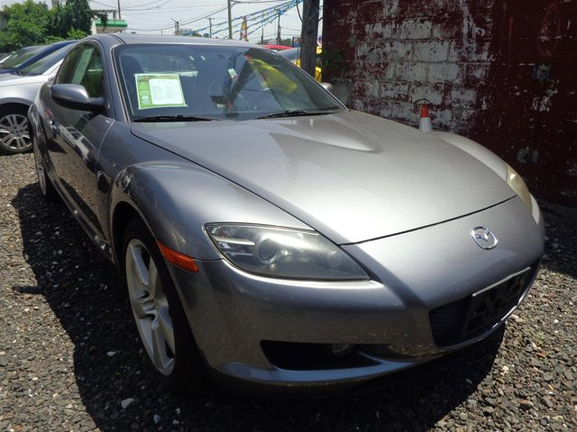 2005 Mazda RX-8 Sunlight Silver MetallicBlackRed V 13L Automatic 115935 miles  Rotary engine