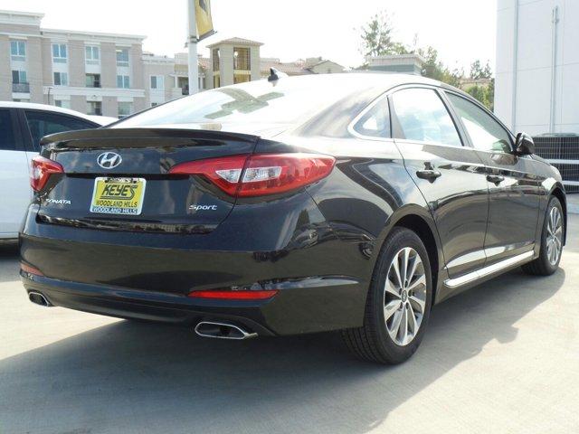 2017 Hyundai Sonata Sport BlackGray V4 24 L Automatic 12 miles Woodland Hills Hyundai come a