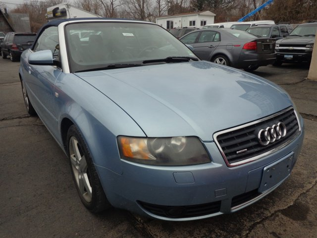 2005 Audi A4 30L Aquamarine Blue MetallicBlack V6 30L Automatic 72815 miles  All Wheel Drive