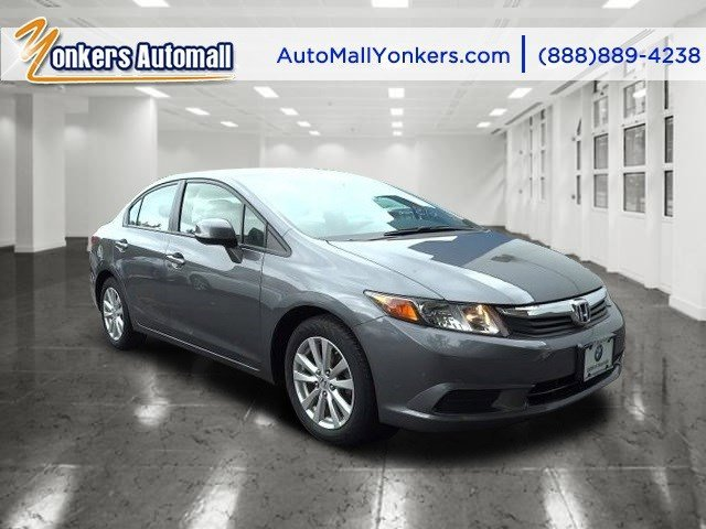 2012 Honda Civic Sdn EX Polished Metal MetallicGray V4 18L Automatic 41182 miles 1 owner cle