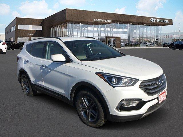 2017 Hyundai Santa Fe Sport 24L Frost White PearlBeige V4 24 L Automatic 1901 miles  FK  CF