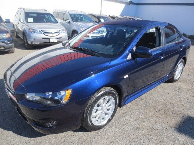 2014 Mitsubishi Lancer ES Cosmic BlueBlack V4 20 L Automatic 5 miles They are Here The ALL NE