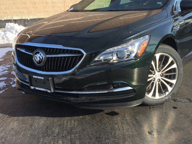 2017 Buick LaCrosse Essence Dark Forest Green Metallic V6 36L Automatic 6 miles Introducing t