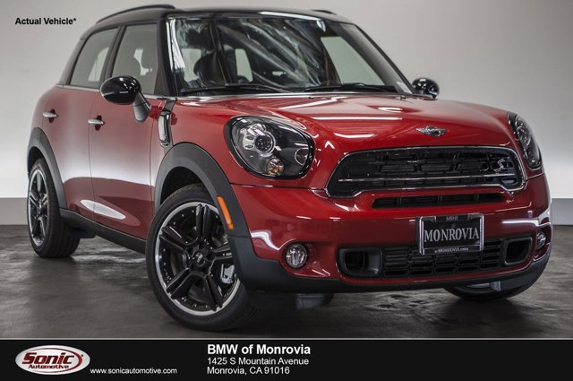2016 MINI Cooper Countryman S Blazing Red MetallicChampionship Red V4 16 L Automatic 0 miles
