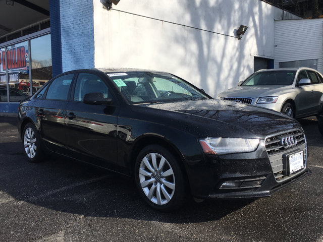 2014 Audi A4 Premium Phantom Black Pearl EffectBlack V4 20 L Automatic 38968 miles Solid and
