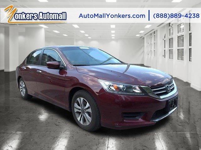 2013 Honda Accord Sdn LX Basque Red Pearl IIIvory V4 24L Automatic 22258 miles 1 owner clean