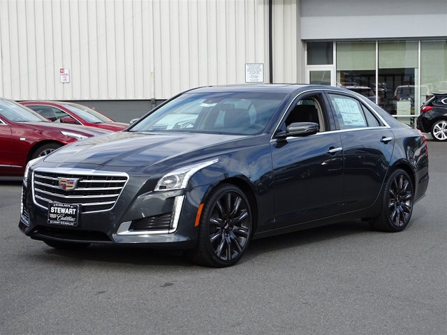 2017 Cadillac CTS Sedan Luxury RWD Phantom Gray MetallicJet Black with Jet Black Accents V6 36L