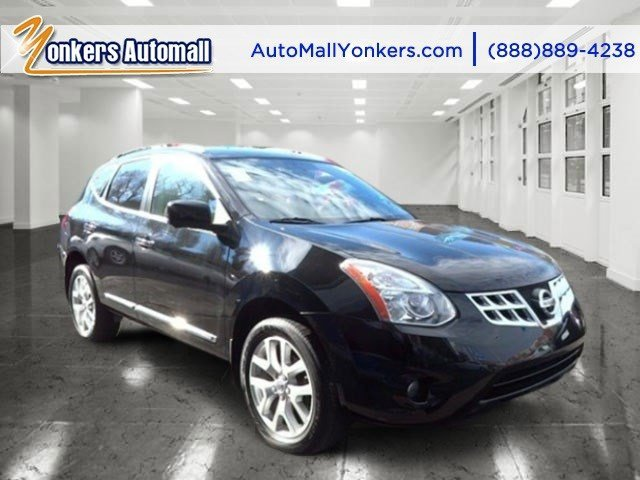 2013 Nissan Rogue SL Super BlackBlack V4 25L Automatic 36766 miles 1 owner clean carfax Rog