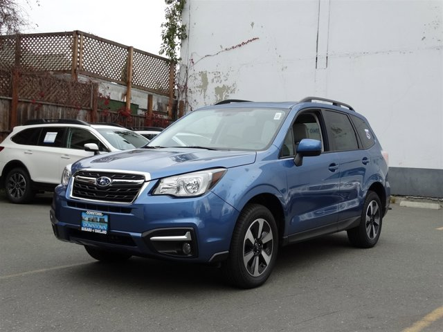 2017 Subaru Forester Premium Quartz Blue PearlGray V4 25 L Variable 324 miles  All Wheel Driv