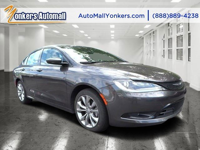 2015 Chrysler 200 S Granite Crystal Metallic ClearcoatAmbassador BlueBlack V4 24 L Automatic